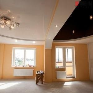 Многоуровневый потолок в студию